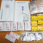 毎月にもらう医療品の量(CSIIと血糖値測定の分)