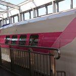 キティ新幹線に乗りました