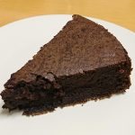 VD濃いガトーショコラを やや レシピ通りにつくりました