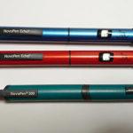 ノボペン300とEchoの比較 ペン型注射2日目